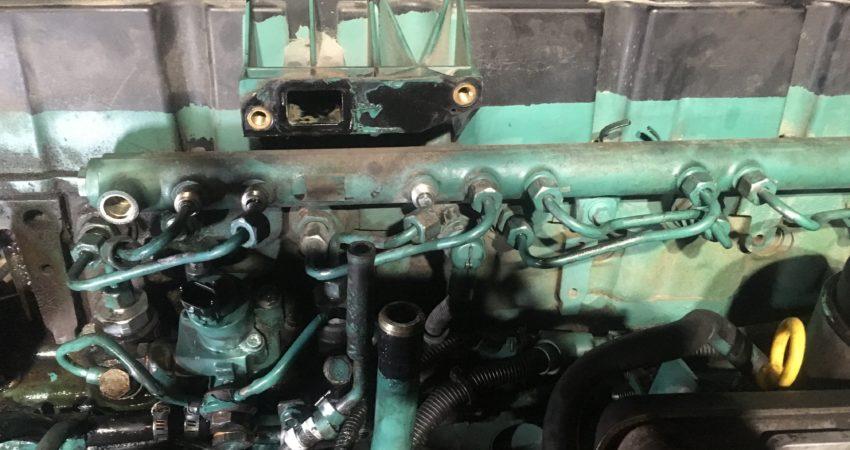 Naprawa układu paliwowego w TIR Volvo