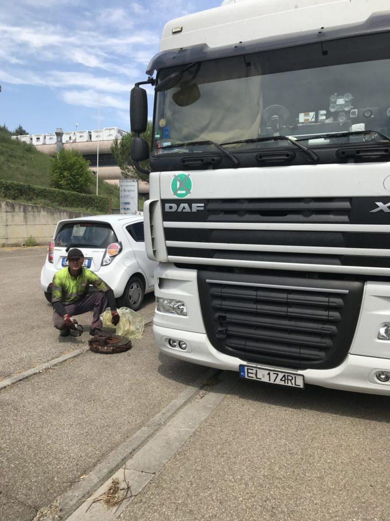 Serwis tir pomoc drogowa Włochy
